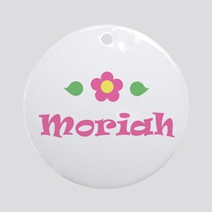 "Pink Daisy - ""Moriah"" Ornament (Round)"