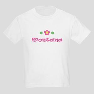 """Pink Daisy - """"Montana"""" Kids T-Shirt"""