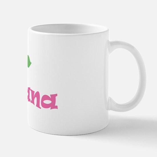 "Pink Daisy - ""Montana"" Mug"