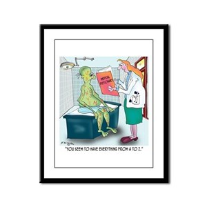 You Have Everything From A to Z Framed Panel Print