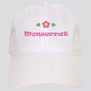 "Pink Daisy - ""Monserrat"" Cap"