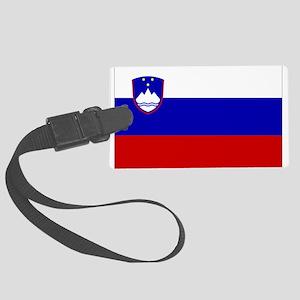 Slovenia Luggage Tag