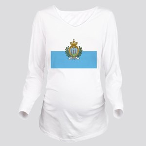 San Marino Long Sleeve Maternity T-Shirt