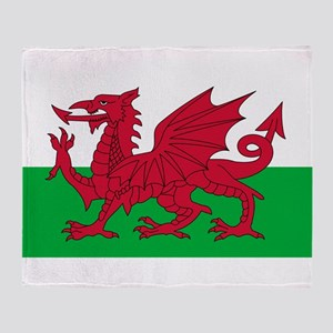 Wales Throw Blanket