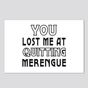 You lost me at quitting Merengue Postcards (Packag