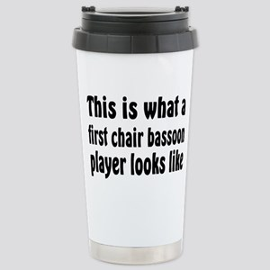 Bassoon Stainless Steel Travel Mug