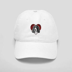 Springer Spaniel Valentine Cap