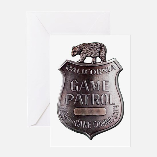 California Game Warden Greeting Cards