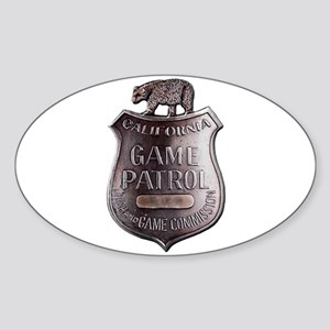 California Game Warden Sticker