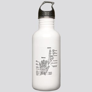 hand anatomy Water Bottle