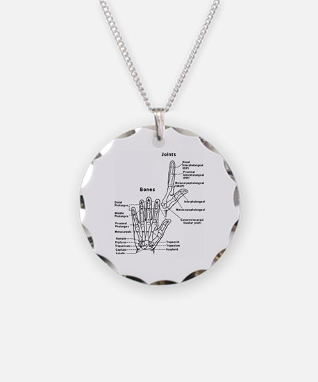 hand anatomy Necklace