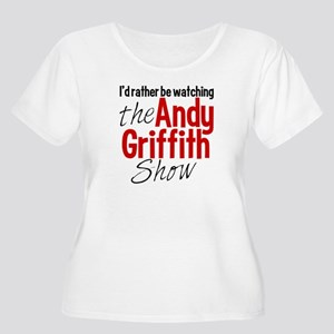 Andy Griffith Women's Plus Size Scoop Neck T-Shirt