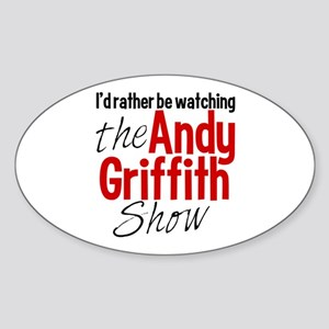 Andy Griffith Show Sticker (Oval)