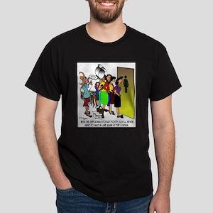 Inflatable Pocket Potty Dark T-Shirt