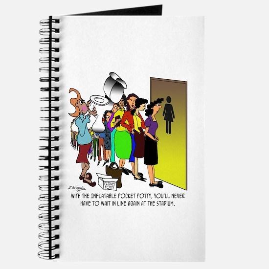 Inflatable Pocket Potty Journal