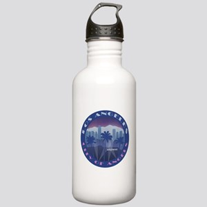 LA Hollywood round Water Bottle
