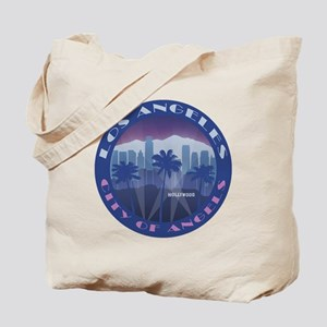 LA Hollywood round Tote Bag