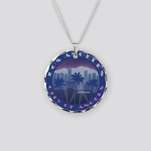 LA Hollywood round Necklace
