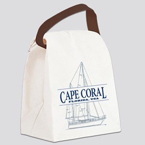 Cape Coral - Canvas Lunch Bag