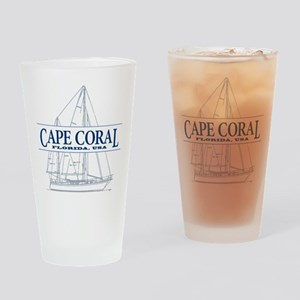 Cape Coral - Drinking Glass