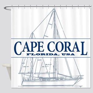 Cape Coral - Shower Curtain