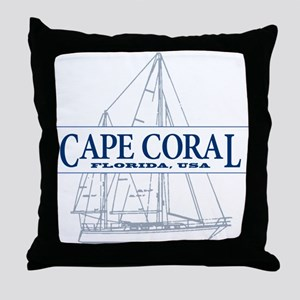 Cape Coral - Throw Pillow