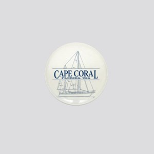 Cape Coral - Mini Button