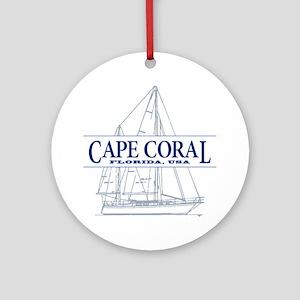 Cape Coral - Ornament (Round)