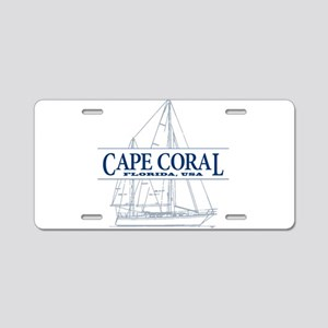Cape Coral - Aluminum License Plate
