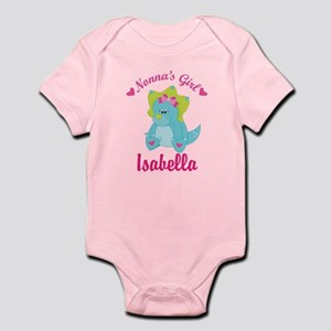 Personalized Nonnas Girl Dino Body Suit