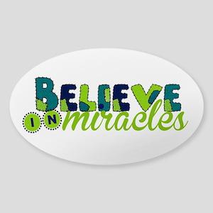Believe in Miracles Sticker