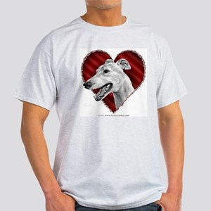 Greyhound Valentine Ash Grey T-Shirt