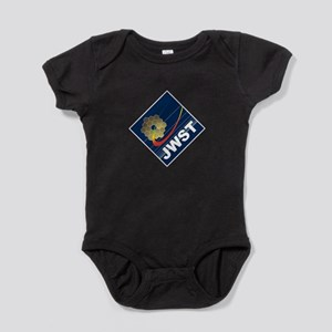 James Webb ESA Logo Light Baby Bodysuit