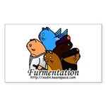 Furmentation Crew Rectangle Sticker