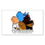 Furmentation Crew Rectangle Sticker
