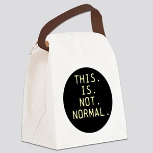 This is not normal Canvas Lunch Bag
