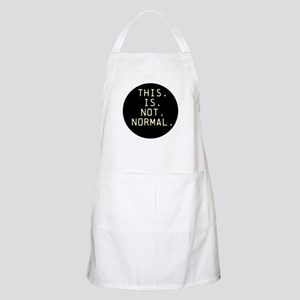 This is not normal Light Apron