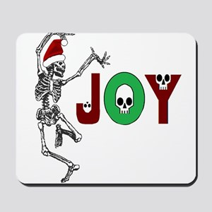 Skeleton Santa - Joy Mousepad
