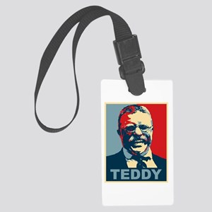 Teddy Roosevelt Large Luggage Tag