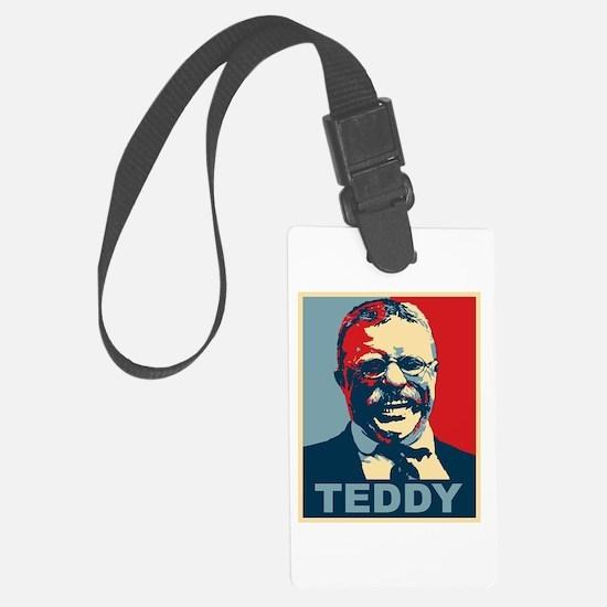 Teddy Roosevelt Luggage Tag