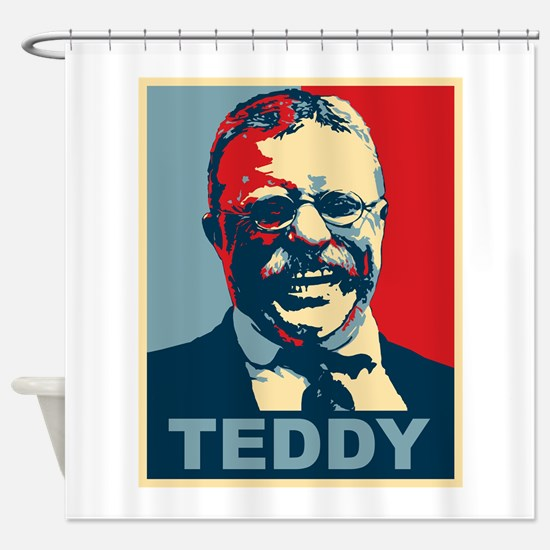 Teddy Roosevelt Shower Curtain