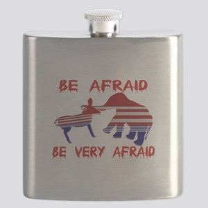 Be Afraid Democrats & Republicans Unite Flask