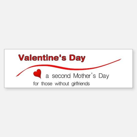 Valentine's Mother's Day - Fo Bumper Bumper Bumper Sticker