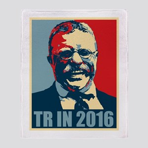 TR in 2016 Throw Blanket
