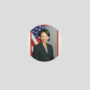 Condoleezza Rice Mini Button