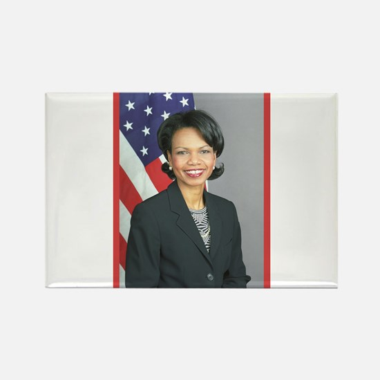 Condoleezza Rice Rectangle Magnet