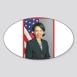 Condoleezza Rice Oval Sticker
