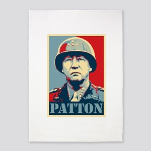 General Patton 5'x7'Area Rug