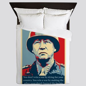 George S. Patton Queen Duvet
