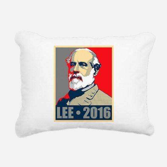 Lee for President Rectangular Canvas Pillow
